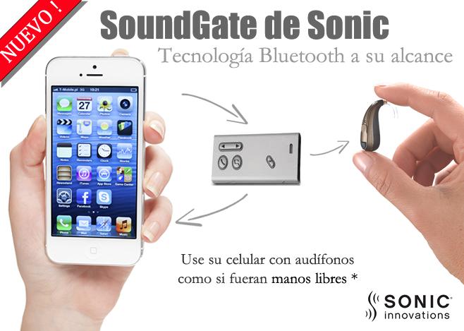 Audífonos para sordera conectables a Smartphones mediante bluetooth